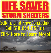 Life Saver Storm Shelters  at KFive Contracting